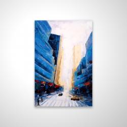 Magnetic 20 x 30 - 3D - Blue asymmetrical street