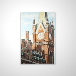 Magnetic 20 x 30 - 3D - St-pancras station in london