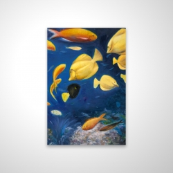 Magnetic 28 x 42 - 3D - Fish under the sea