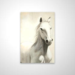 Magnetic 20 x 30 - 3D - Gallant white horse