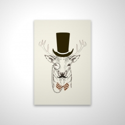 Magnetic 20 x 30 - 3D - Aristocrat roe deer