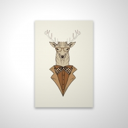 Magnetic 20 x 30 - 3D -  deer with brown coat