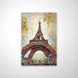 Magnetic 20 x 30 - 3D - Abstract eiffel tower