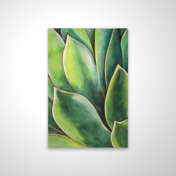 Magnetic 20 x 30 - 3D - Watercolor agave plant