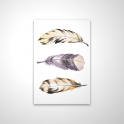 Magnetic 28 x 42 - 3D - Horizontal striped feather set