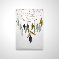 Magnetic 20 x 30 - 3D - Dreamcatcher with feathers