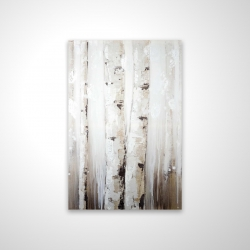 Magnetic 20 x 30 - 3D - Abstract white birches