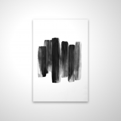 Magnetic 28 x 42 - 3D - Black shapes