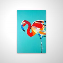 Magnetic 20 x 30 - 3D - Abstract flamingo