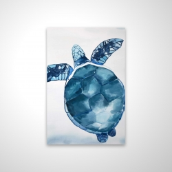Magnetic 20 x 30 - 3D - Blue turtle