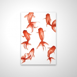 Magnetic 28 x 42 - 3D - Small red fishes