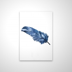 Magnetic 20 x 30 - 3D - Blue feather