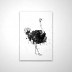 Magnetic 20 x 30 - 3D - Proud ostrich