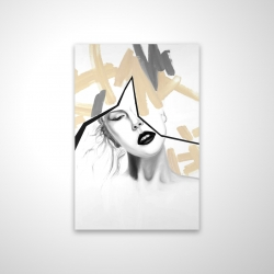 Magnetic 20 x 30 - 3D - Divided woman