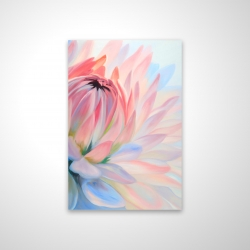 Magnetic 20 x 30 - 3D - Lotus pastel flower