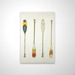 Magnetic 20 x 30 - 3D - Canoe paddles