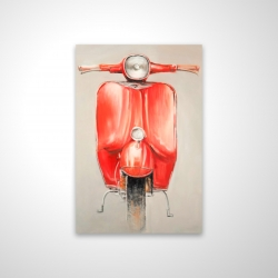 Magnetic 20 x 30 - 3D - Small red moped