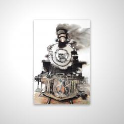 Magnetic 20 x 30 - 3D - Vintage train