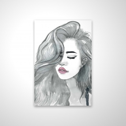 Magnetic 20 x 30 - 3D - Beautiful female hair
