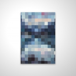 Magnetic 20 x 30 - 3D - Pixelated mountainous landscape