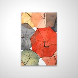 Magnetic 20 x 30 - 3D - The umbrellas of petit champlain