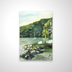 Magnetic 20 x 30 - 3D - Sailboat day