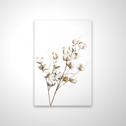 Magnetic 20 x 30 - 3D - A branch of cotton flowers
