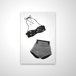 Magnetic 20 x 30 - 3D - Vintage women's swimsuit