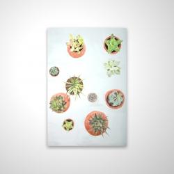 Magnetic 20 x 30 - 3D - Cactus plants