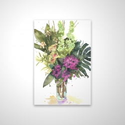 Magnetic 20 x 30 - 3D - Tropical flower assemblage