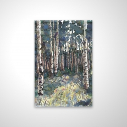 Magnetic 20 x 30 - 3D - Birches