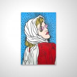 Magnetic 20 x 30 - 3D - Pop art woman