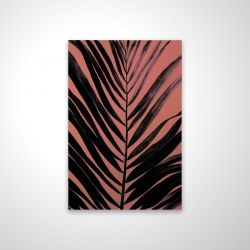 Magnetic 20 x 30 - 3D - Coral tropical palm leave