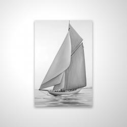 Magnetic 20 x 30 - 3D - Vintage sailing ship