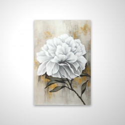 Magnetic 20 x 30 - 3D - White peony