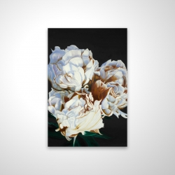 Magnetic 28 x 42 - 3D - Blooming peonies