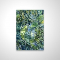 Magnetic 20 x 30 - 3D - Abstract succulents