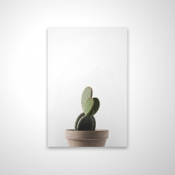 Magnetic 20 x 30 - 3D - Potted cactus