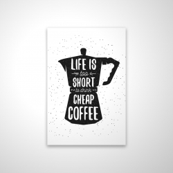 Magnetic 20 x 30 - 3D - Life and coffee