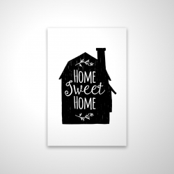 Magnetic 20 x 30 - 3D - Home sweet home
