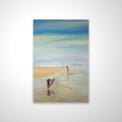 Magnetic 20 x 30 - 3D - Children at the beach