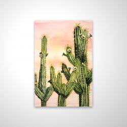 Magnétique 20 x 30 - 3D - Cactus weberocereus