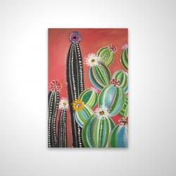 Magnetic 20 x 30 - 3D - Rainbow cactus