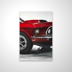Magnetic 20 x 30 - 3D - Classic red car