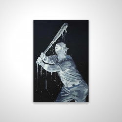 Magnetic 20 x 30 - 3D - Baseball player