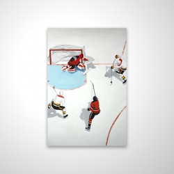 Magnetic 20 x 30 - 3D - Eventful hockey game