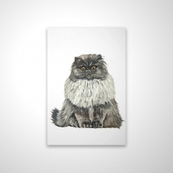 Magnetic 20 x 30 - 3D - Blue gray persian cat
