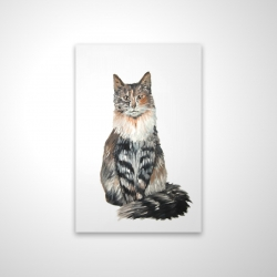 Magnetic 20 x 30 - 3D - Norwegian forest cat