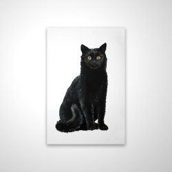 Magnetic 20 x 30 - 3D - Black cat