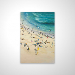 Magnetic 20 x 30 - 3D - Summer crowd at the beach